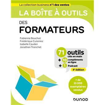 La Boite A Outils Des Formateurs 4eme Edition Broche Fabienne Bouchut Frederique Cuisiniez Isabelle Cauden Achat Livre Ou Ebook Fnac