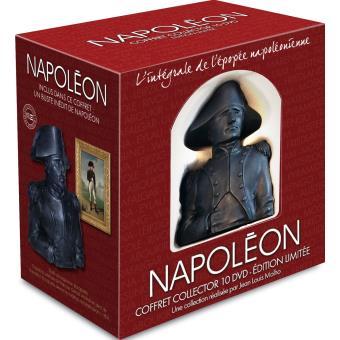 Coffret Napoleon DVD Inclus un buste en résine