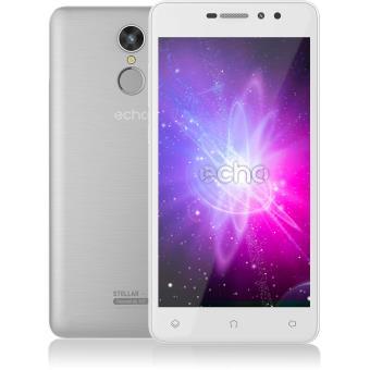 Smartphone Echo Stellar Double SIM 16 Go Argent