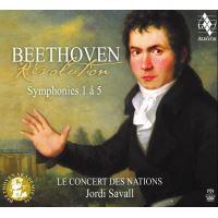 Beethoven Revolution Symphonies 1-5 - 3 CDs
