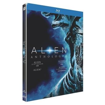 AlienCoffret Alien Anthologie Version 2016 4 films Blu-ray