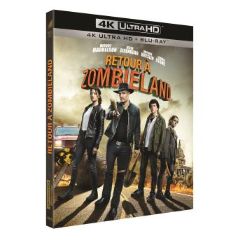 Retour à Zombieland Blu-ray 4K Ultra HD