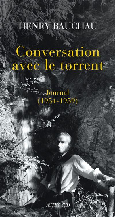 Conversation avec le torrent journal 1954-1959