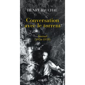Conversation avec le torrent journal 1954-1959