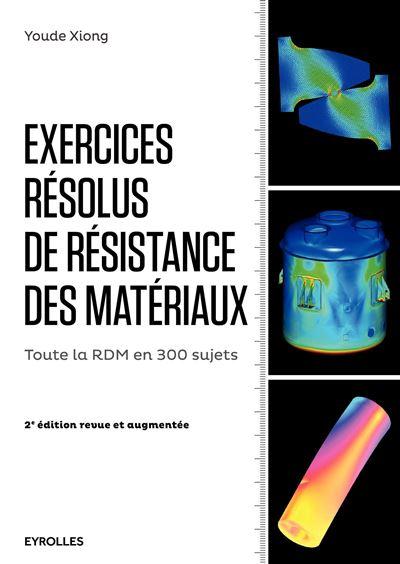 Exercices résolus de resistance des matériaux