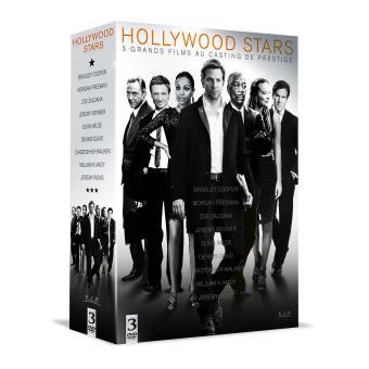 Coffret Hollywood Stars 3 films DVD