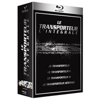 Coffret Le Transporteur 4 films Blu-ray