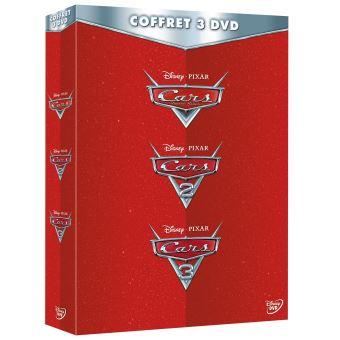 CarsCoffret Cars 1 à 3 DVD