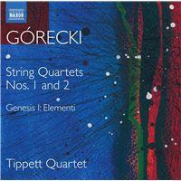 String Quartets Nos 1 and 2 - CD