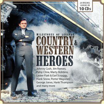 Country & Western Legends: Milestones of  Legends - 10CD