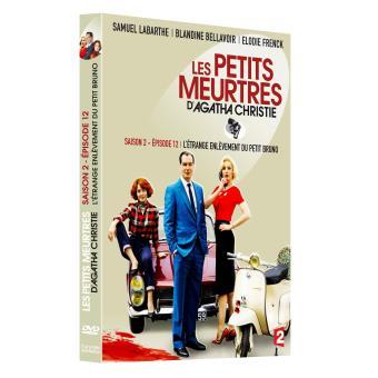 Les petits meurtres d'Agatha ChristieLes petits meurtres d'Agatha Christie Le mystérieux enlèvement du petit Bruno Zennefort DVD