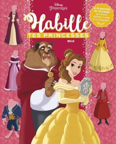 LA BELLE AU BOIS DORMANT - Habille tes princesses - cahier - Hachette Disney