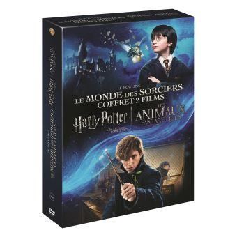 Coffret Harry Potter à l'école des sorciers Les Animaux fantastiques DVD