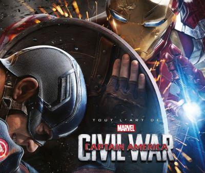Tout l'art de Captain America