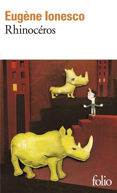 Rhinoceros Piece En Trois Actes Et Quatre Tableaux Poche Eugene Ionesco Achat Livre Fnac