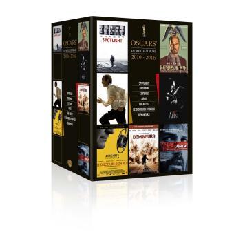 Coffret Oscar du meilleur film 2010 - 2016 DVD