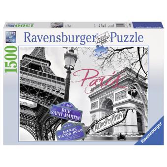 puzzle 1500p paris ravensburger autre puzzle achat prix fnac. Black Bedroom Furniture Sets. Home Design Ideas