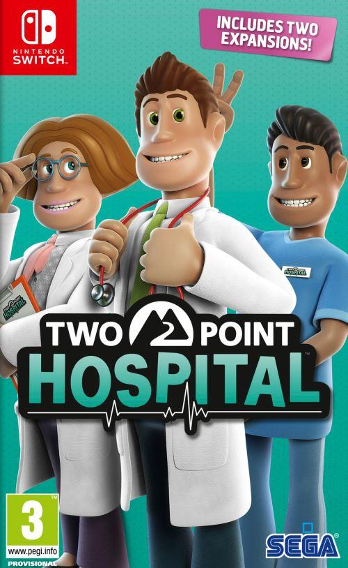 Two Point Hospital Nintendo Switch