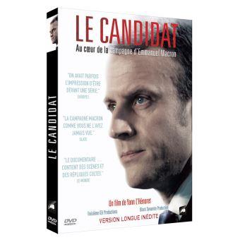 Le Candidat Au cœur de la campagne d'Emmanuel Macron DVD