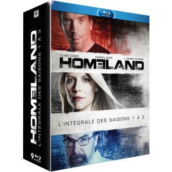 HomelandCoffret intégral des Saisons 1 à 3 Blu-Ray