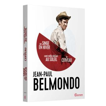 Coffret Jean-Paul Belmondo Version 2016 3 films Edition limitée DVD