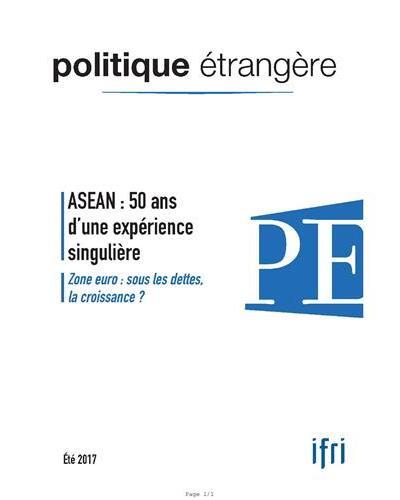 ASEAN fête ses 50 ans politiques