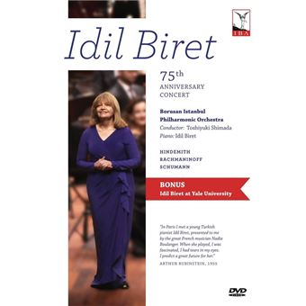 Idil Biret 75th Anniversary Concert DVD
