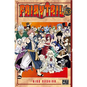 Fairy Tail Tome 63 Fairy Tail
