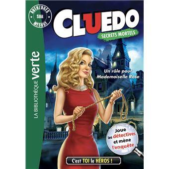 CluedoAventure sur mesure Cluedo 16 - Un rôle pour Mademoiselle Rose