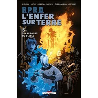 B.P.R.DBPRD - L'Enfer sur Terre 5. Sur les ailes du diable