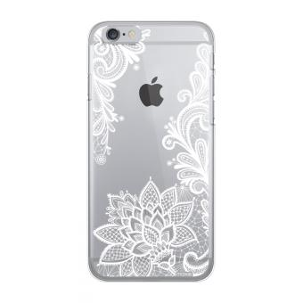 MOXIE CRYSTAL CASE LACE IPHONE 6/6S WHITE