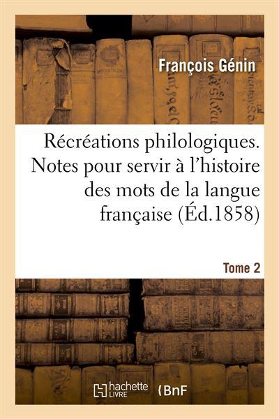 Récréations philologiques