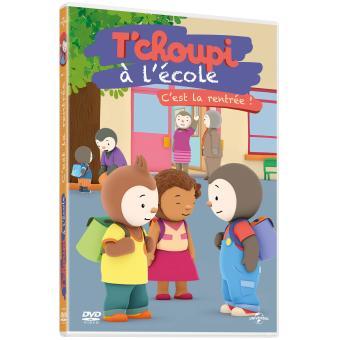 T Choupi A L Ecole C Est La Rentree Dvd Lionel Kerjean Dvd