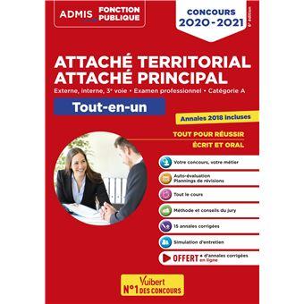 Concours attaché territorial : Catégorie A, Tout-en-un
