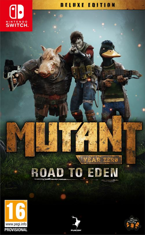 Mutant Year Zero Road to Eden Edition Deluxe Nintendo Switch