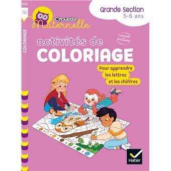 Activités de coloriage GS