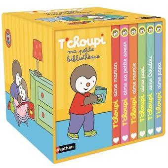 T Choupi Coffret 6 Volumes Ma Petite Bibliotheque