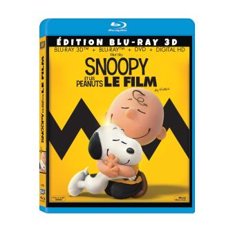 Snoopy et Charlie BrownSnoopy et les peanuts Combo Blu-ray 3D + DVD + DHD