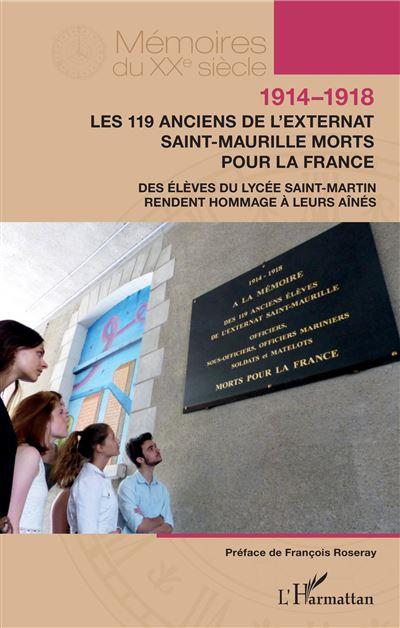 1914-1918, Les 119 anciens de l'externat Saint-Maurille morts pour la France