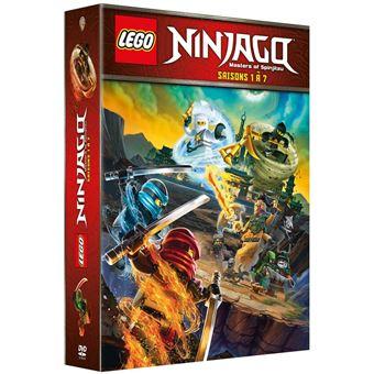 Ninjago lego ninjago saisons 1 a 7 coffret dvd zone 2 - Ninjago saison 2 ...