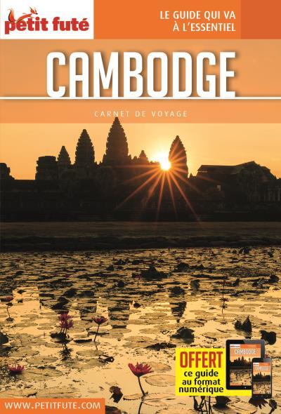Cambodge 2017 carnet petit fute + offre num
