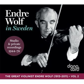 In sweden/great violinist endre wolf vol 2