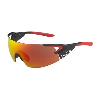 Lunettes de soleil Sport Vélo Bollé 5th Element Pro Noire, rouge et orange 498b78c87249