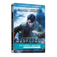 Dunkerque Edition spéciale Fnac Steelbook Blu-ray 2D + 4K