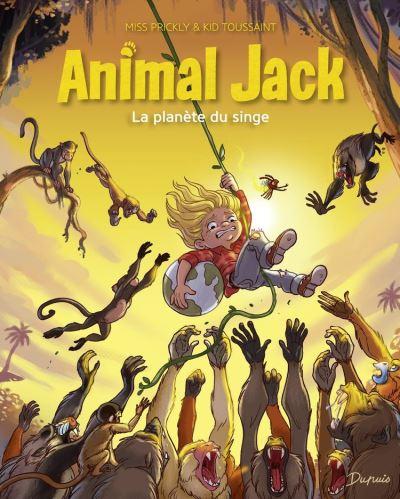 Animal Jack - Tome 3 - La planète du singe - 9791034752799 - 5,99 €