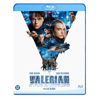 Valerian And The City Of A Thousand Planets (Steelbook) -BIL-BLURAY
