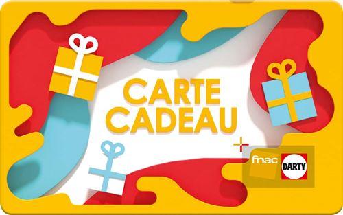 Carte Cadeau Fnac Voyage.E Carte Cadeau Fnac Darty Prisme