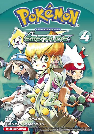 Les Pokémon - La grande aventure Tome 4 : Pokémon Rouge Feu et Vert Feuille/Émeraude