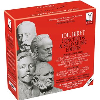 IDIL BIRET CONCERTOS AND SOLO MUSIC EDITION
