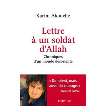 Lettre à un soldat d'Allah